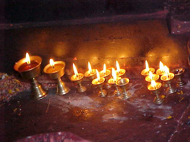 Ghee  candles : This Ghee is made from rancid yak butter (Nepal, The Travel Addicts)
