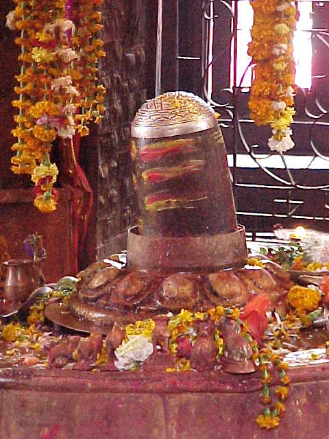 Shiv Lingam : Symbolically the penis of Shiva. (Nepal, The Travel Addicts)