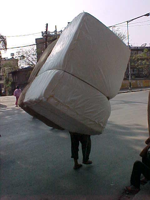 Heavy load (Nepal, The Travel Addicts)