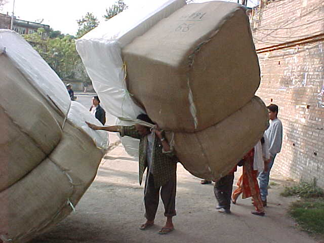 We *think* it's foam rubber (Nepal, The Travel Addicts)
