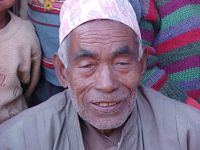 The old mans name is Harakay Bhadur (Nepal, The Travel Addicts)