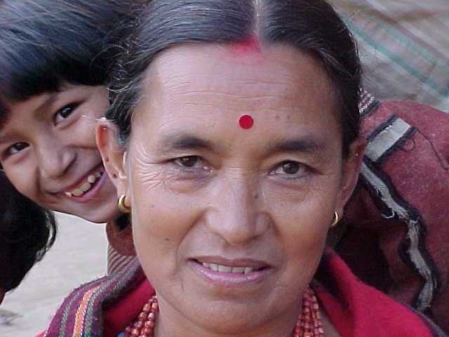 The woman is Ganey Svwal (Nepal, The Travel Addicts)