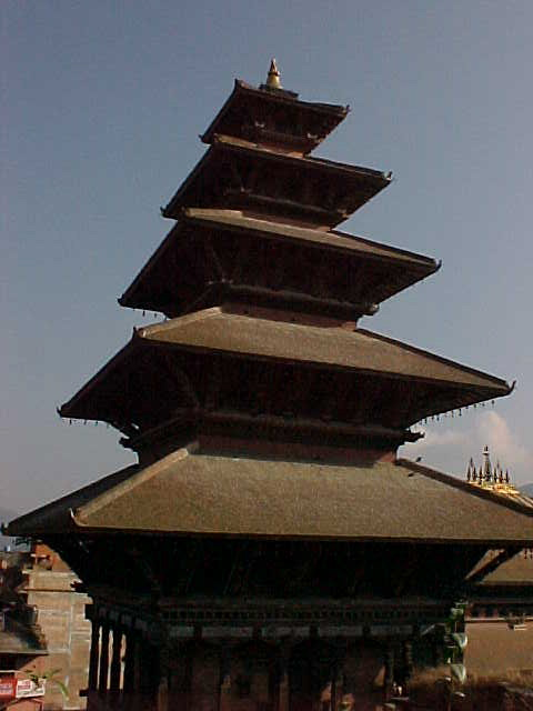 Nyatapola Temple : This temple is dedicated to Lakshmi and tallest in Nepal (Nepal, The Travel Addicts)
