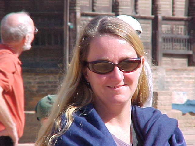 SGK smirking (Nepal, The Travel Addicts)