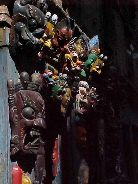 Masks (Nepal, The Travel Addicts)