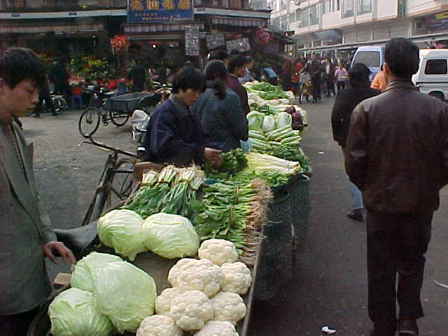 MVC-146S-Vegtables. , Chengdu, Sichuan Sheng, China (成都, 四川省, 中国) (The Travel Addicts, China)