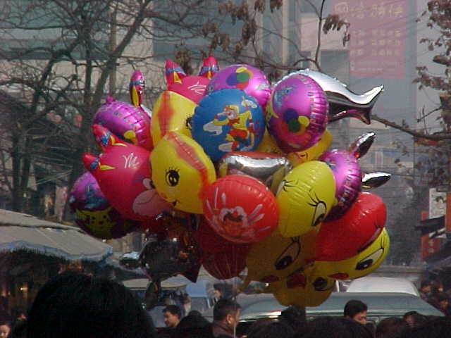 MVC-152S-Balloons!. , Chengdu, Sichuan Sheng, China (成都, 四川省, 中国) (The Travel Addicts, China)