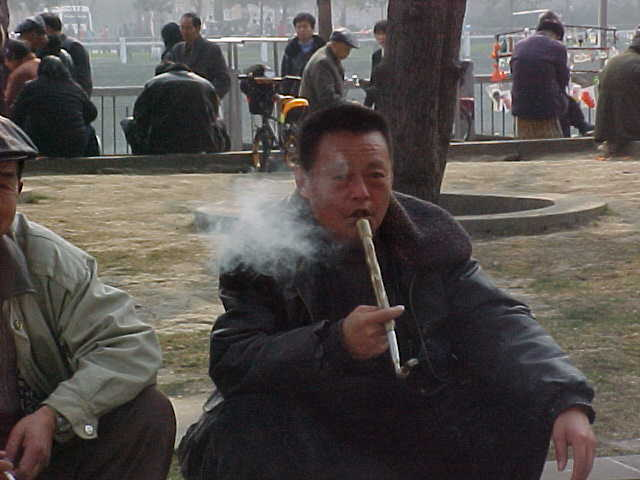 MVC-168S-Smoking opium. , Chengdu, Sichuan Sheng, China (成都, 四川省, 中国) (The Travel Addicts, China)