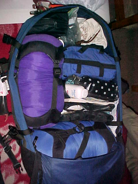 MVC-866S-Jam packed. , Chengdu, Sichuan Sheng, China (成都, 四川省, 中国): SaraGrace wanted to show off her packing job (The Travel Addicts, China)