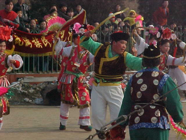 MVC-195S-Parade dancer. , Beijing, Beijing Shi, China (北京, 北京市, 中国) (The Travel Addicts, China)